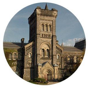 Side view of U of T
